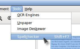 ocrfeeder Разработка ocrfeeder начата как магистерская диссертация по Прикладной информатике программистом joaquim rocha В дальнейшем приложение вошло в состав