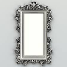mirror frame. Rectangle Mirror Frame 011 3d Model Max Obj Fbx Stl 6 S
