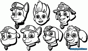 Free Paw Patrol Coloring Pages 28 Collection Of To Print High 2486