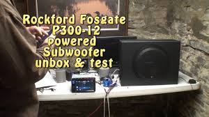 rockford fosgate p300 12 powered Rockford Fosgate P500 2 Wiring Diagram