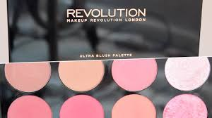 makeup revolution sugar and e blush palette review vielita you