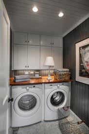 Laundry room lighting Flush Mount Laundry Room Washer And Dryer Hgtvcom 10 Easy Budgetfriendly Laundry Room Updates Hgtvs Decorating