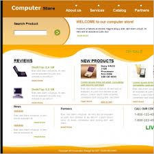 Computer Store Template Free Website Templates In Css Html