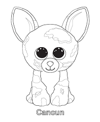 Beanie Boo Coloring Pages Birthdays Beanie Boo Birthdays Beanie