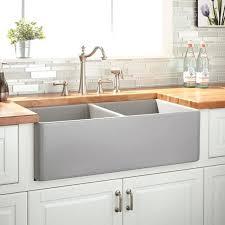 33 white farmhouse sink double bowl farmhouse sink gray 33 inch white fireclay farmhouse sink