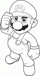 Small Picture Download and Print mario coloring pages to print Mario