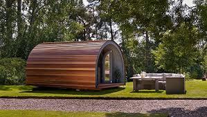 shepherd huts garden pods