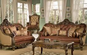 traditional leather living room furniture. Unique Leather Catchy Traditional Leather Living Room Furniture And Elegant  Sets Antique Style Sofa Inside