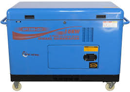 diesel generator. MAC-AFRIC 12.5 KVA (10 KW) Standby Silent Diesel Generator (380V)
