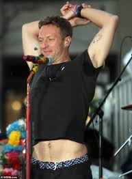 Chris martin plays gay