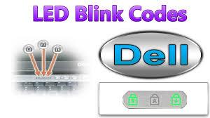 Dell Precision Light Codes Dell Led Blink Error Codes 1