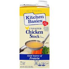 Kitchen Basics Chicken Stock Unsalted