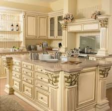 Maple Luxurious Solid Wood Kitchen Cabinets Manufacturer