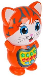 Интерактивная <b>развивающая</b> игрушка <b>Умка Кот</b>-<b>сказочник</b> красный