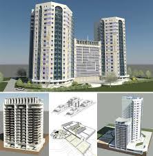 bim кому нужна такая модель  Игорь Козлов Проект многоэтажного жилого дома с многоуровневой автоматизированной парковкой Покупатель хорошо видит за что он платит деньги Дипломный