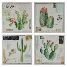 about this item on cactus wall art framed with cactus wall art on canvas white green 4pk 3r studios target