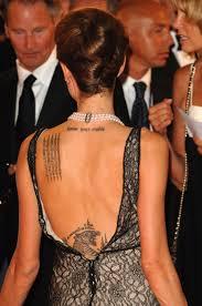 анджелина джоли разрешила детям сделать татуировки звёзды журнал Ok