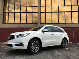 2017 acura mdx sport hybrid is the quietest smoothest hybrid crossover on the market