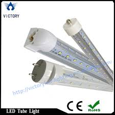 china 2ft 8ft v shape 270 degree t8 integrated led cooler light for walk in freezer