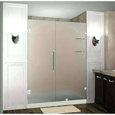 shower door frosted shower glass hinged shower door with frosted glass frosted shower glass