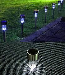 Outdoors Led Solar Lights Outdoor Solar Led Lawn Lamps Street Lighting Luminaria