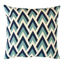 geometric pillow black and ivory geometric indoor outdoor throw