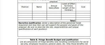 Cost Proposal Templates Cost Proposal Template onepiece 67