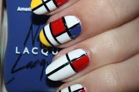 DIY Nail Art: YSL Mondrian Dress-Inspired Manicure (PHOTO) | HuffPost