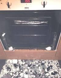 oven door glass shattered the on floor after exploded mum whirlpool shatt