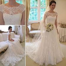 best 25 white lace wedding dress ideas