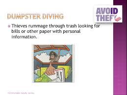 on dumpster diving essay dumpster diving term paper