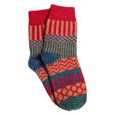 Us 1 34 40 Off 1 Pair Womens Thin Lightweight Merino Ragg Knit Warm Wool Crew Socks Mid Calf Spring Fall Socks In Cycling Socks From Sports