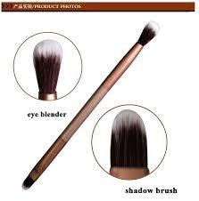 le golden 2 in 1 eye shadow brush eye blender super fine soft contour makeup brush mulit function cosmetic tool