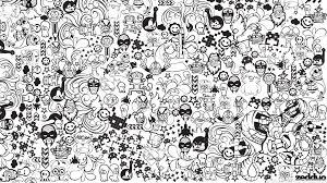 drawing doodle hd wallpaper