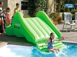 diy pool slide pool slide inflatable diy pool water slide