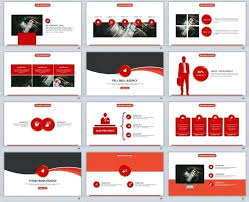 Red Ppt Template