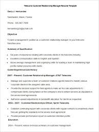 Best Solutions of Sample Resume For Customer Service Representative  Telecommunications About Resume