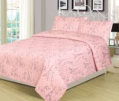 girly pink bedding new beatrice home fashions paris polka full 3 piece bed set quilt