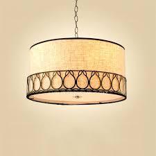 drum pendant chandelier drum pendant lighting nickel barrel pendant lighting