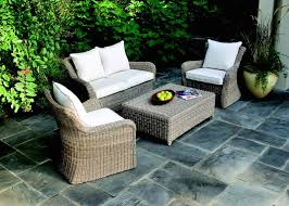 complete your unfinished landscape with a large patio furniture collection