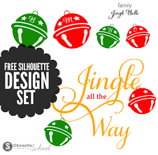 Free vector icons in svg, psd, png, eps and icon font. Free Silhouette Jingle Bells Design Set Silhouette School