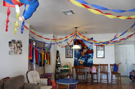 Small Picture Creative Superman Party Decoration Ideas Best Home Design Amazing