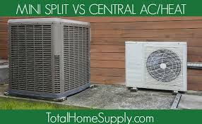 ductless vs central air. Perfect Ductless Image Of Central Air Unit And Mini Split And Ductless Vs Central Air C