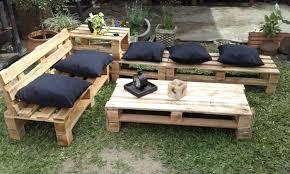 outdoor furniture pallets. Pallet Garden Furniture Outdoor Pallets E
