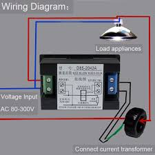 usefulldata com good ac volt ammeter wiring black version wiring diagram volt ammeter ac 80 300v d85 2042a