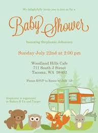 Rustic Baby Shower Games U2013 DiabetesmanginfoCamping Themed Baby Shower Invitations