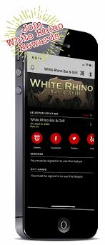 white rhino bar grill is located at 101 east joliet street in dyer indiana directly across the street from saint margaret mercy hospital on route 30