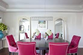 contemporary dining room chairs pink dining chairs contemporary dining room benjamin pink dining room chair slipcovers
