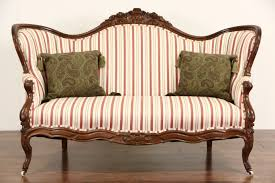 antique sofas and chairs victorian setee victorian couches