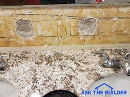 tile adhesive removing and fixing wall